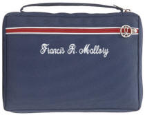 Personalized Navy Bible Case
