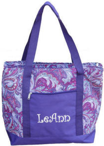 Personalized Purple Envy Insulated Cooler Bag