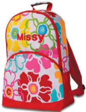Bright Bloom Girls Backpack