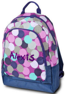 Confetti Dot Junior Backpack