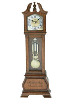Hamilton Personalized Wood Clock