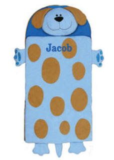 Personalized Stephen Joseph Dog Nap Mat