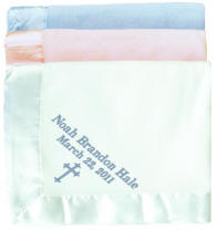 Fleece Personalized Baby Blanket