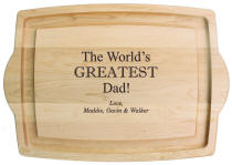 Personalized Cutting Board for Dad or Grandpa