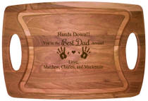 Best Dad Cherry Cutting Board