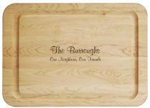 Jumbo Hardwood Cutting Board