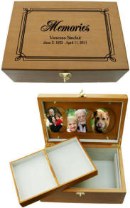 Personalized Memories Box