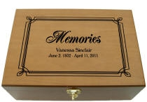 Memory Boxes | Personalized Remembrance Memory Box