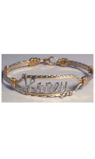 Personalized 4-Strand Name Bracelet