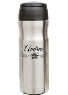Personalized Insulated Capsule Travel Mug