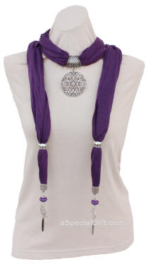 Scarf with Bermuda Medallion