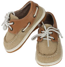 Canvas Boater Squeak Me Shoes