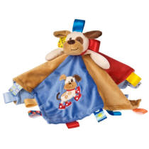 Personalized Taggies Dog Character Blanket