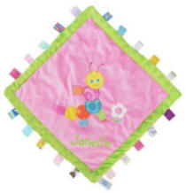 Personalized Taggies Colours Caterpillar Cozy Blanket