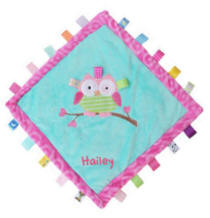 Personalized Taggies Oodles Owl Cozy Blanket