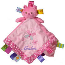 Taggies Kandy Kitty Character Blanket