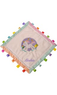 TAGGIES Dreamsicle Unicorn Cozy Blanket
