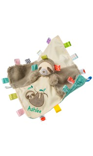 Personalized Taggies Molasses Sloth Character Blanket