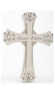 Cross with Wall Hanging Option
