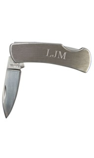 Personalized Locking Pocket Knife