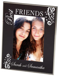 Best Friend Black Newton Photo Frame