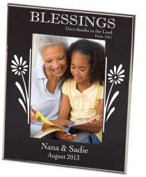 Blessings Black Newton Photo Frame