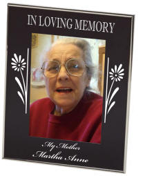 In Loving Memory Newton Photo Frame