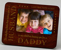 Personalized Fathers Day Frame
