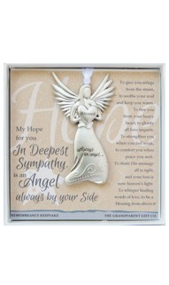 Deepest Sympathy Memorial Angel