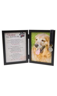 Personalized Where I'll Always Be 5x7 Pet Frame