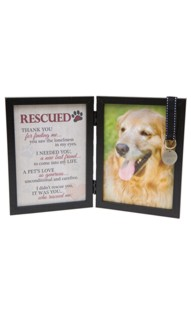 Personalized Rescued 5x7  Pet Frame