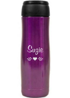 Personalized Purple JOEmo XL Travel Mug