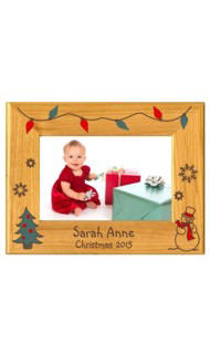 Personalized Christmas 2015 Frame