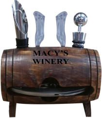 Barrel Wine Tool Set
