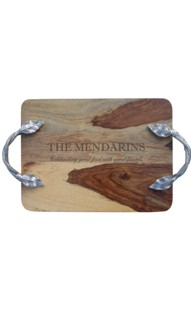 Sheesham Wood Tray with Handles