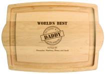 Personalized Worlds Best Cutting Board