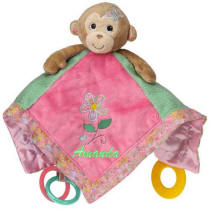 Maddi Monkey Activity Blanket