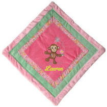 Maddie Monkey Cozy Blanket