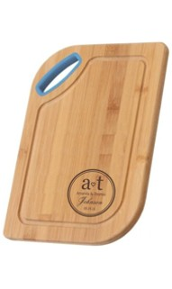 Colored Handled Cutting Board