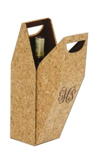 Personalized Wine Bottle Cork Box