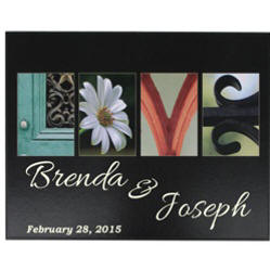 Personalized Love in Pictures Frame