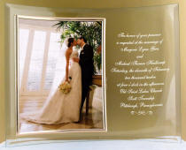 8 in. x 10 in. Curved Beveled Frame