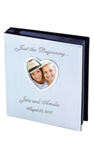 Personalized Heart Frame Photo Album