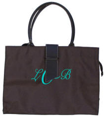 Personalized Chocolate Tote