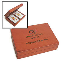 Engraved Card Playing Box