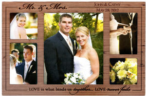 Mr & Mrs Collage Photo Frame