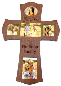 Personalized Cherry Photo Cross