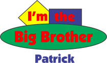 Personalized Big Brother Shirt Style E