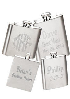 personalized engraved flask photo flask custom printed flask