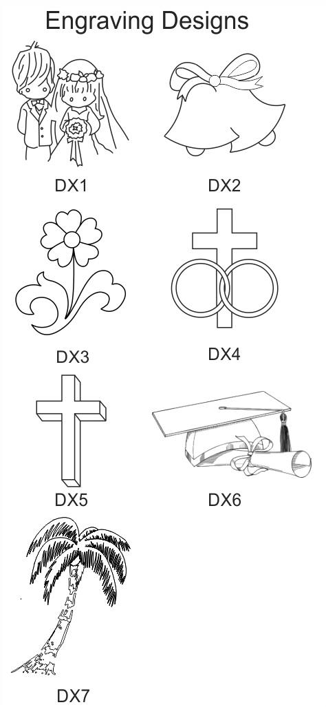Engraving Design Selection